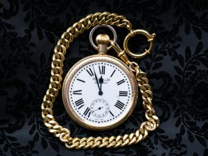 Inherited gold pocket watch