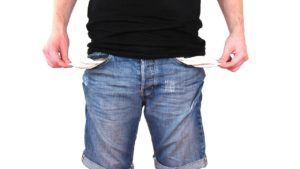 Empty pockets leading to debt