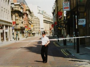 Manchester City Centre before the 1996 bomb
