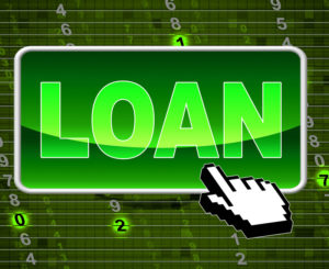Short term loan concept