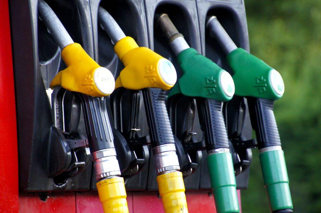 Petrol and diesel pumps