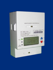 Smart meter recording electricity usage