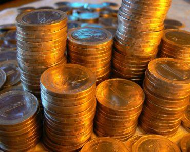 Columns of cash