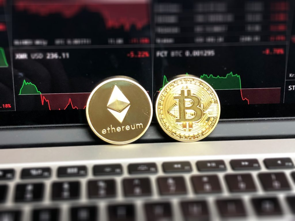 Trading Bitcoin and Ethereum crypto currencies