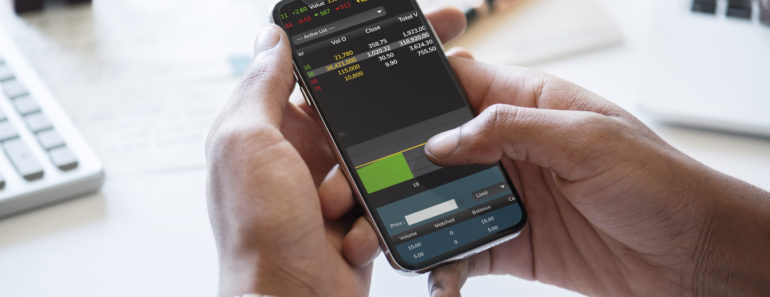 Forex trading o a mobile phone