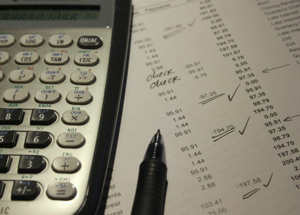 Accounting for a credit report
