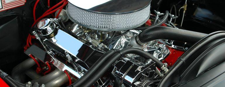 A high performance car engine