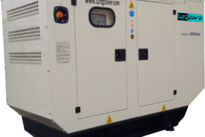 A commercial diesel generator