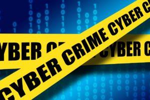 A cyber crime concept