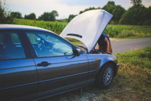 Investigating a car breakdown