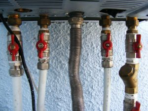 Central heating plumbing