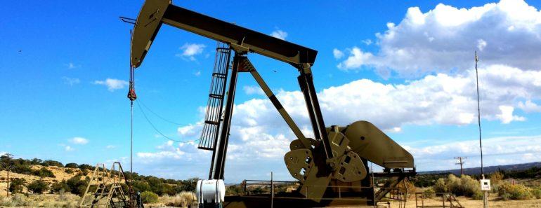 A land based oil pump