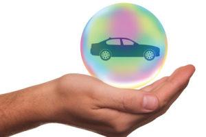 A car insurance concept