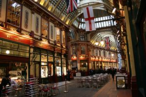 Leadenhall Market in London