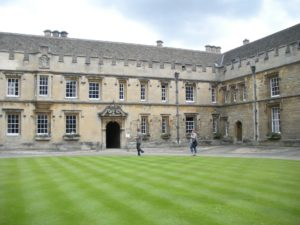 An Oxford University college