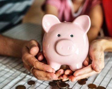 A piggy bank remortgaging concept