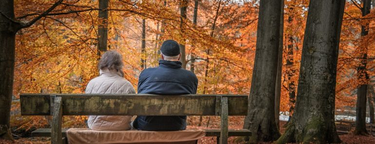 Pensioners enjoying life
