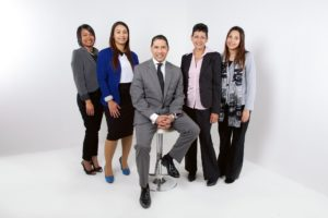 A team of employees