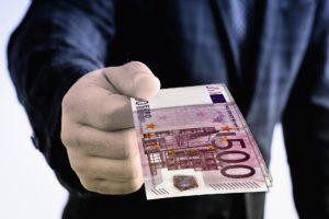 Giving away Euros