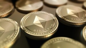Ethereum crypto-currency concept