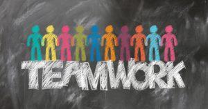 A teamwork concept
