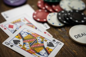 Gambling with playing cards