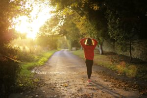 Becoming fit by walking