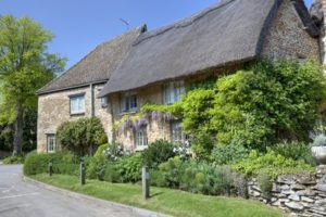 An Oxfordshire thatched cottage