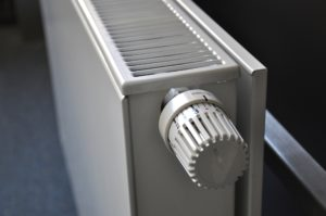A central heating radiator
