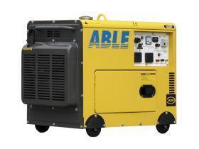 A portable industrial generator