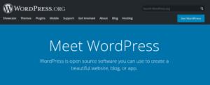 Meet WordPress graphic