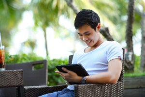 Enjoying using an iPad