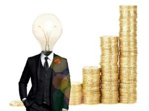 A business idea concept