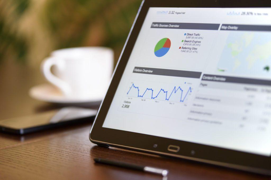 Using an iPad for digital marketing