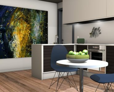 A modern apartment interior design