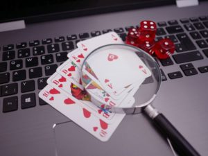 Poker in an online casino, a concept