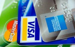 An American Express credit card