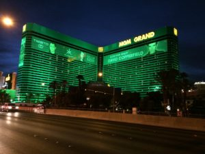 The MGM Grand Hotel in Las Vegas