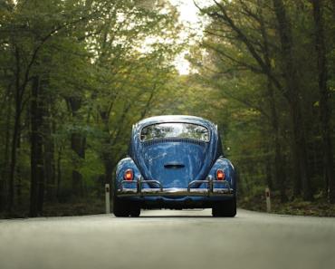 A VW Beetle