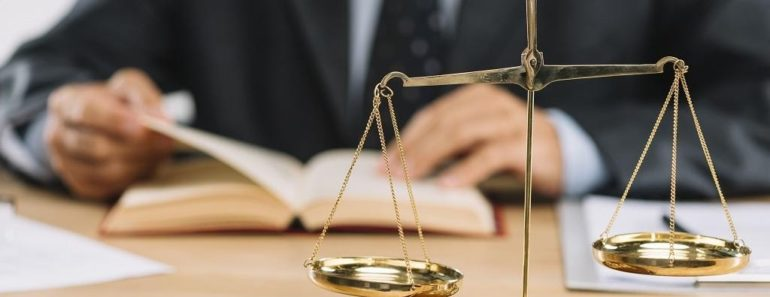 Justice and balancing scales