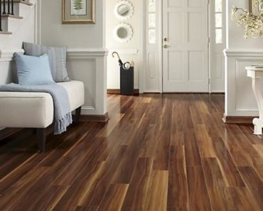 Wooden flooring in a living room