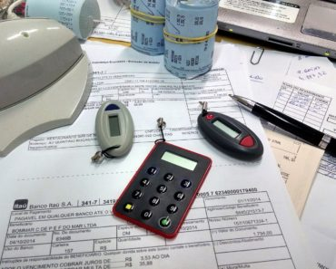 Accountancy on an office desk