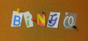 A bingo logo