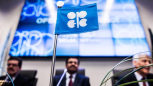 An OPEC meeting
