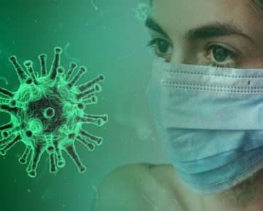 Coronavirus and face mask concept