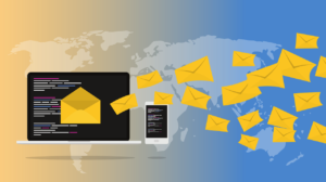 An email newsletter concept