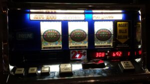 Slot jackpots in a casino