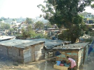 Slums and poverty