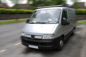 A commercial van