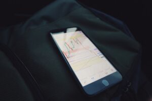 Forex trading on a mobile phone